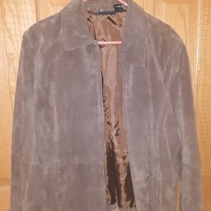 A soft leather light jacket